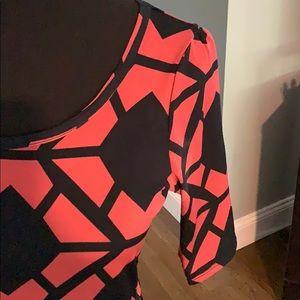 LuLaRoe Dresses - Lularoe Nicole Dress Slinky Material